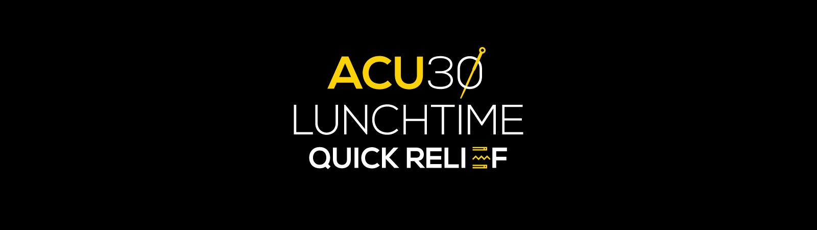Acu30-series