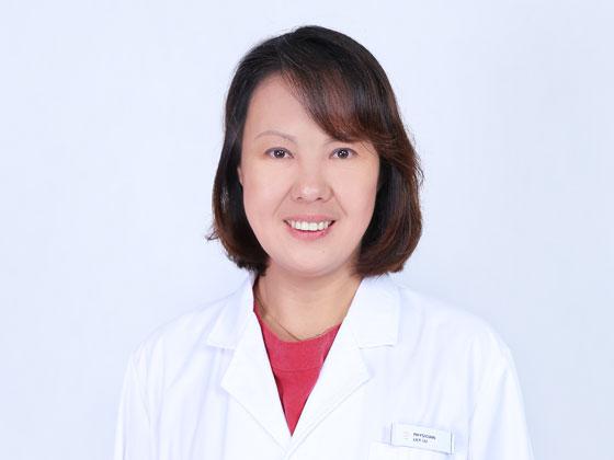 Physician Lily Lu Jie