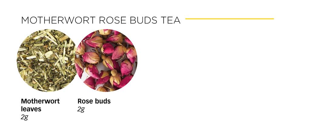 Motherwort-rose-buds-tea
